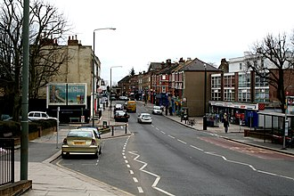 Anerley - Image: Anerley, Anerley Road geograph.org.uk 1745779