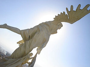 Angel in Aparecida, SP