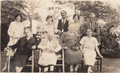 Anna Augusta Kershaw (1841-1931) and family in Rye, New York in May of 1929 by Joseph Lowe.png