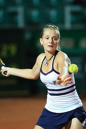 Anna Chakvetadze - Chakvetadze at the 2009 Rome Masters