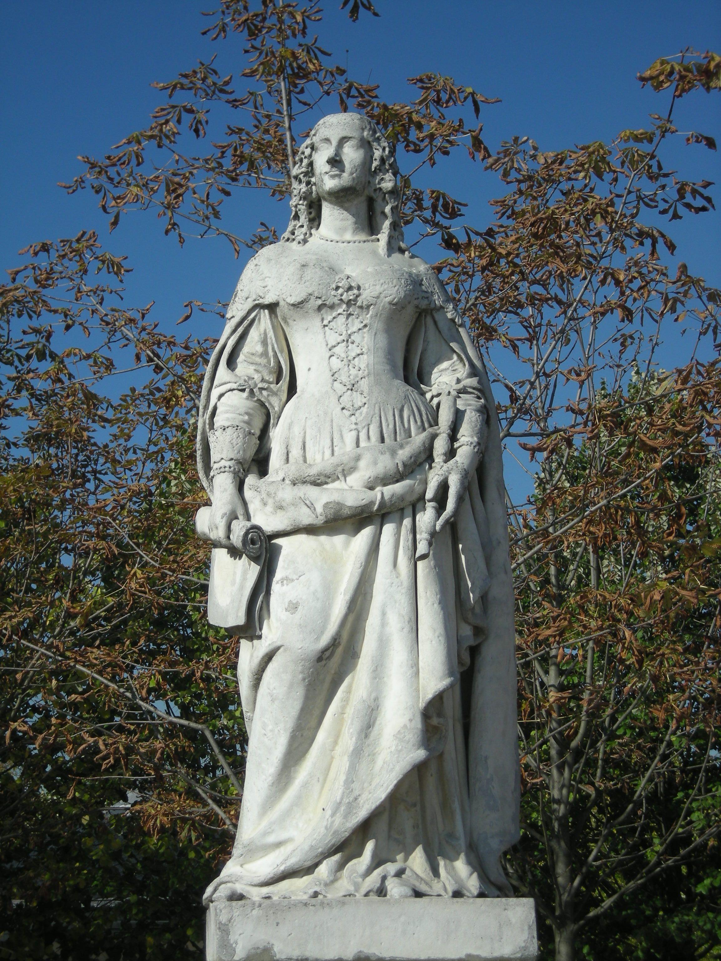 Fichier:Anne d'Autriche par Joseph Marius Ramus, Jardin du ...