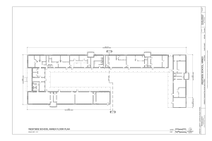 Annex Floor Plan - Westside School, Annex, Corner of Washington Avenue and D Street, Las Vegas, Clark County, NV HABS NV-65-A (sheet 1 of 9).png