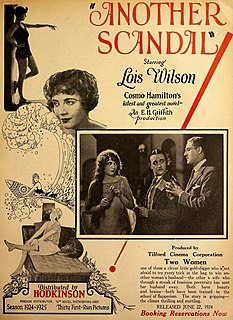 <i>Another Scandal</i> 1924 film by Edward H. Griffith