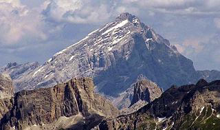 Antelao mountain