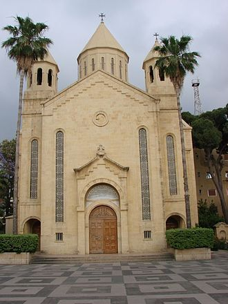 Antelias - The Saint Gregory the Illuminator Cathedral (1940) at the Armenian Catholicossate of Cilicia