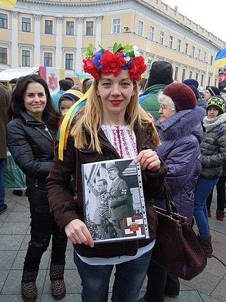 2014 Odessa clashes - Image: Anti War protest, Odessa 02
