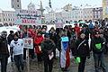 Anti-communist demonstration in České Budějovice 26 January 2013 (11).JPG