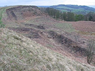 Croy Hill - Antonine Wall at Croy Hill