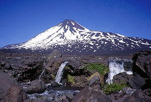 Bío Bío Region - Image: Antuco Volcano