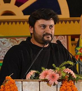 Anubhav Mohanty Odia actor and politician