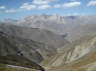 mountain range in Central Asia