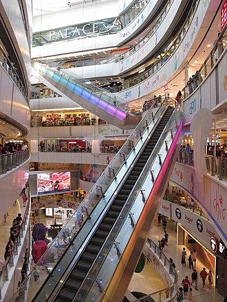Apm (Hong Kong) - Atrium Express escalator