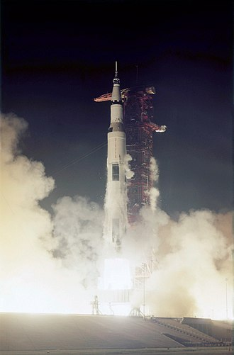 Apollo 17 - Apollo 17 launches on December 7, 1972