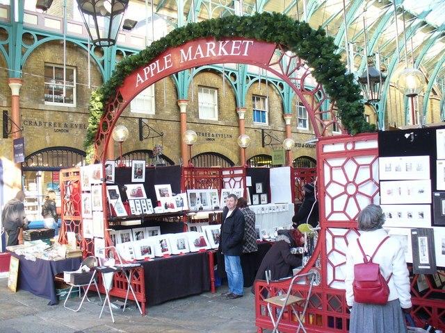 Apple Market, Covent Garden - geograph.org.uk - 1098932