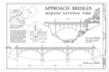 Approach Bridges - Generals Highway, Three Rivers, Tulare County, CA HAER CAL,54-THRIV.V,2- (sheet 9 of 10).png