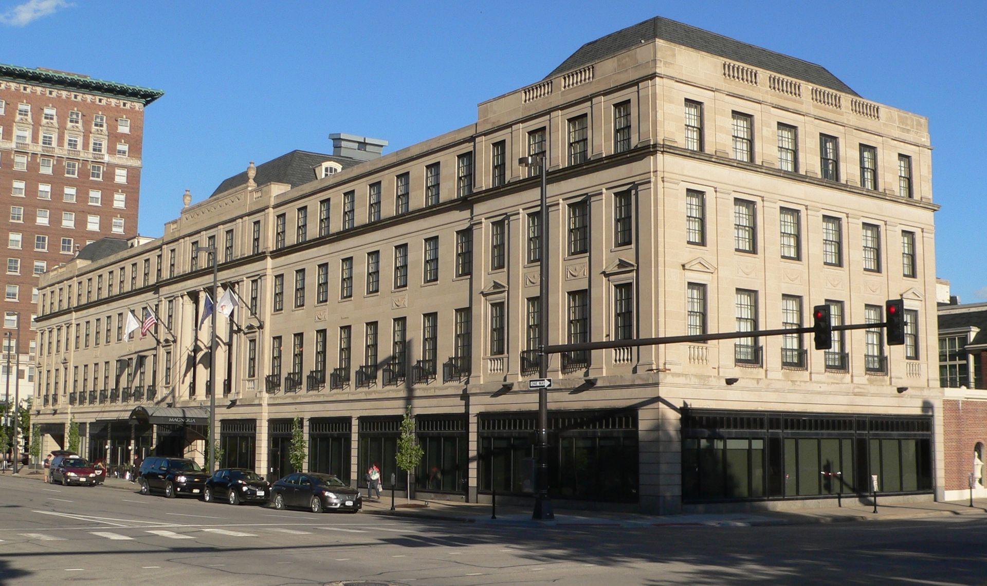 Magnolia hotel omaha wikipedia for Architecture firms omaha ne
