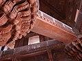 Architectural Detail of the Jewel House - Fatehpur Sikri - Uttar Pradesh - India - 01 (12635251353).jpg
