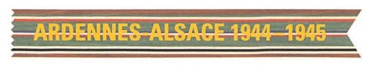 Ardennes-Alsace Campaign Streamer