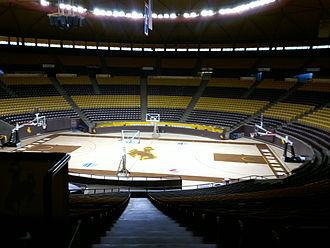 Arena-Auditorium - Interior view of the Arena-Auditorium, 2011