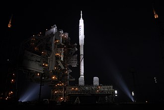 Ares I-X - Ares I-X before launch