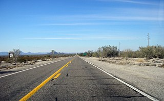 Arizona State Route 72 state highway La Paz County, Arizona, United States