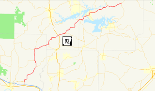 Arkansas Highway 92 highway in Arkansas