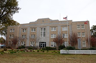 National Register of Historic Places listings in Arkansas County, Arkansas - Image: Arkansas County Courthouse Southern District