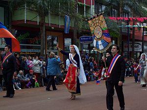 Armenian Argentine - Armenian Argentines in Oberá, Misiones.
