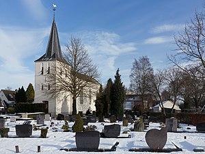 Elden, Netherlands - Image: Arnhem Elden, de Bonifatiuskerk RM8385 met sneeuw foto 3 2017 01 15 12.32