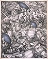 Arthur Szyk (1894-1951). The Nibelungen series, Ride of the Valkyries (1942), New York.jpg