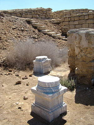 Abu Mena - Image: Artifacts at Abu Mena (II)