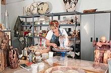 Artist sculptor Aimee Perez in her studio.jpg