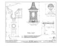 Ashhurst Estate, Summer House, Garden Street, Mount Holly, Burlington County, NJ HABS NJ,3-MOUHO,12A- (sheet 2 of 4).png