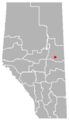 Ashmont, Alberta Location.png