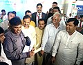 Ashok Gajapathi Raju Pusapati and the Minister of State for Culture (Independent Charge), Tourism (Independent Charge) and Civil Aviation.jpg