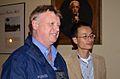 Assoc. Prof. Thomas Faunce (ANU) and Prof. Peidong Yang (Caltech).jpg