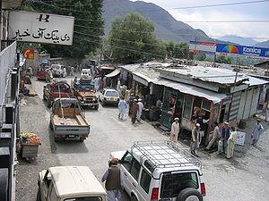 Chitral bazaar