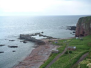 Arbroath smokie - Image: Auchmithie Harbour geograph.org.uk 24546