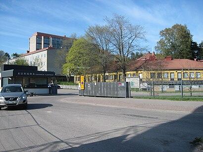 Kuinka päästä määränpäähän Auroran Sairaala käyttäen julkista liikennettä - Lisätietoa paikasta