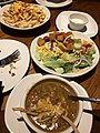 Aussie Cheese Fries, Chicken Tortilla Soup, House Salad, Outback Steakhouse.jpg