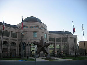 "Austin, Texas - Bob Bullock Texas History Museum in Austin. Its mission is to ""tell The Story of Texas""."