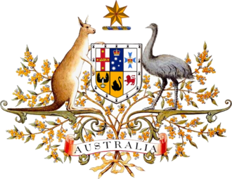 Coat of arms of Australia - Image: Australian Coat of Arms