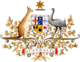 Coat of arms of Australia.