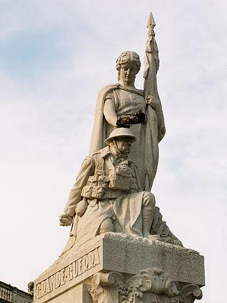 Maximiano Alves - Image: Avenida da Liberdade Monumento aos Mortos da Grande Guerra