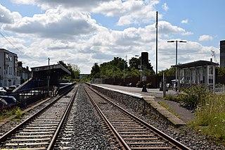 Avonmouth railway station Railway station in Bristol, England