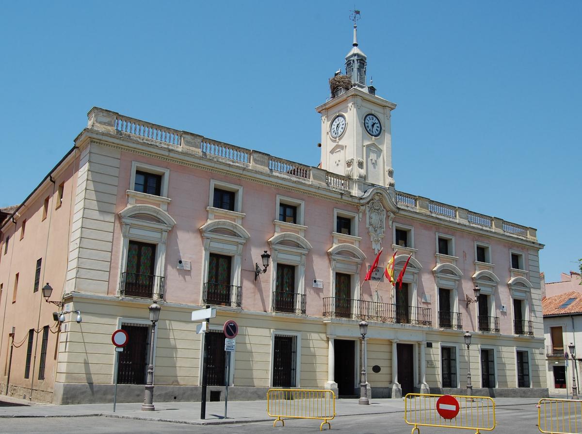 Ayuntamiento de alcal de henares wikipedia la for Ayuntamiento de villel de mesa