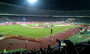 Persian Gulf Pro League - Esteghlal fans celebrate the championship in 2013