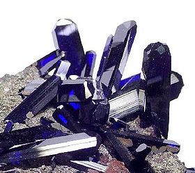 image illustrative de l'article Azurite (minéral)