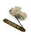 Bälthake i brons föreställande elefant - Hallwylska museet - 98628.tif