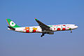 B-16332 - EVA Airways - Airbus A330-302X - Hello Kitty Loves Apples Livery - SHA (16990619728).jpg